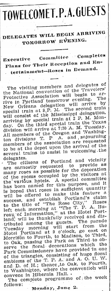 1902-06-01 Oregonain Make Rose City Official
