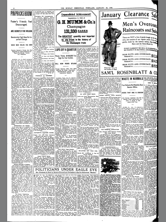 1905-1-22 Oregonian Meteorite Changes Hands