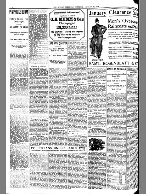 1905-1-22 Oregonian Meteorite Changes Hands
