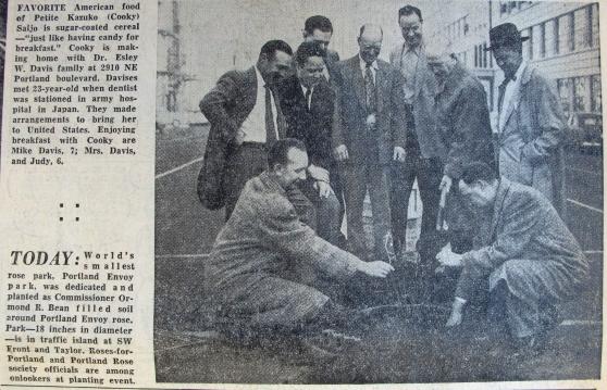 1954-2-23 Journal Portland's Envoy Park (zoom)