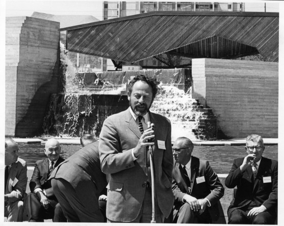 1966-8-31 City Archive Lawrence Halprin speaks Urban renewal ceremony