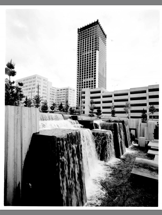 Portland City Archives 1970 Forecourt Fountains
