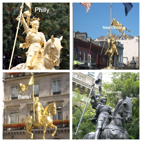 4 other Joan of Arc's