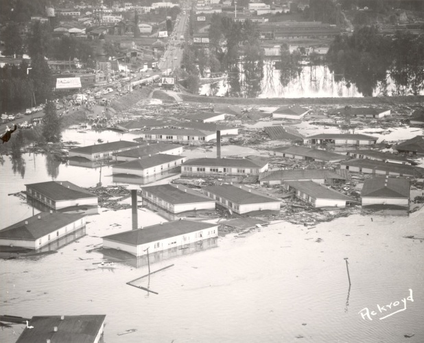 Vanport Flood, from the Portland City Archives