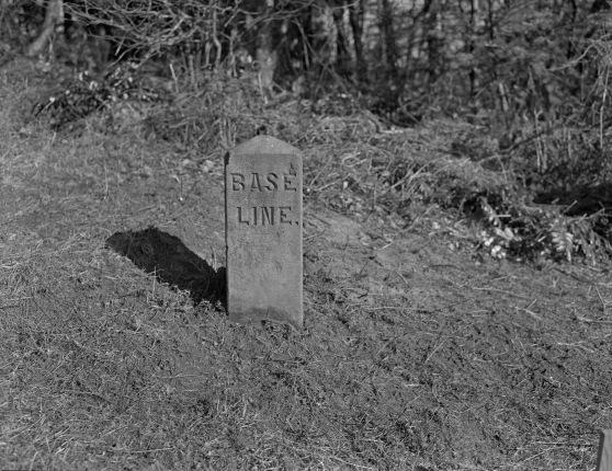 Willamette Stone reading BASE LINE