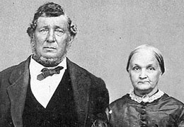Capt Couch and his wife Caroline Flanders Couch