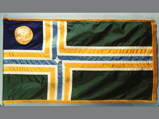 1969 Portland city flag with city seal
