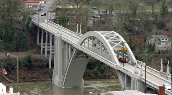 Conde McCullough's Oregon City Bridge