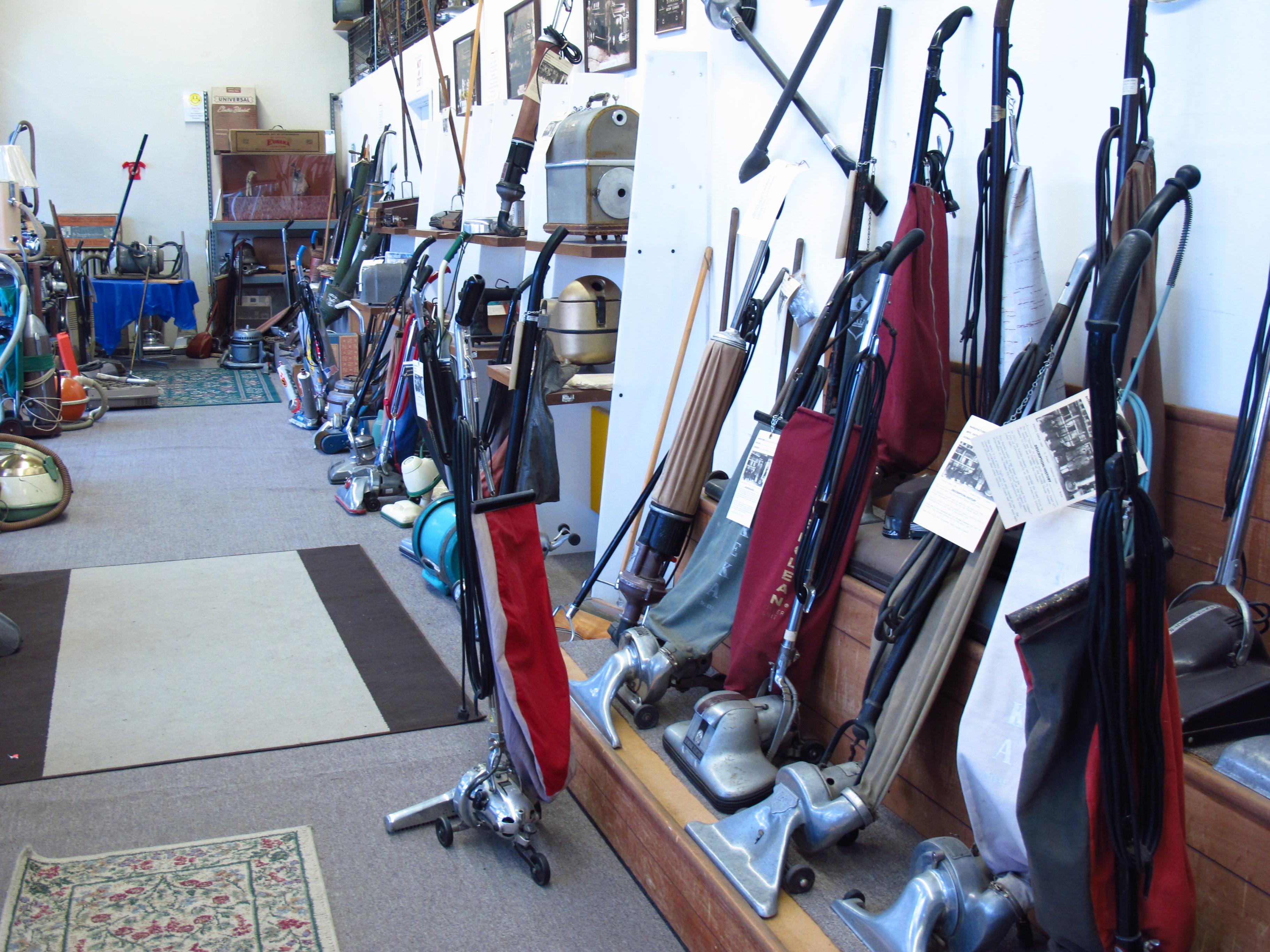 Inside Starks Vacuum Museum