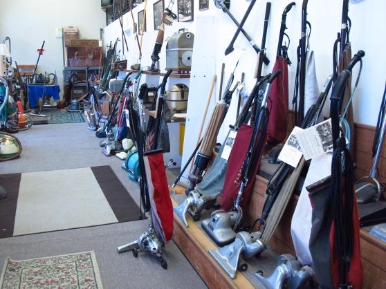 Inside Stark's Vacuum Museum