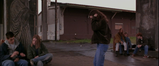 Lovejoy Columns in the movie Foxfire.  Here you can see the owl which sadly was lost to the elements.