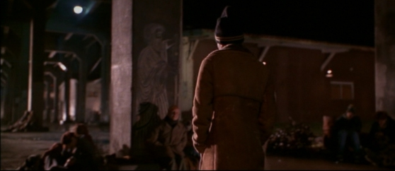 Lovejoy Columns in the movie Foxfire.  Great shot of Diogenes!