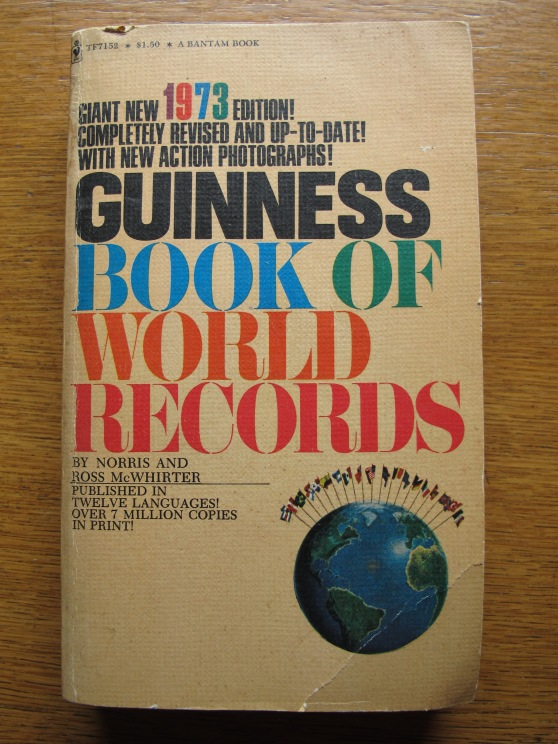 Guinness Book of World Records 1973