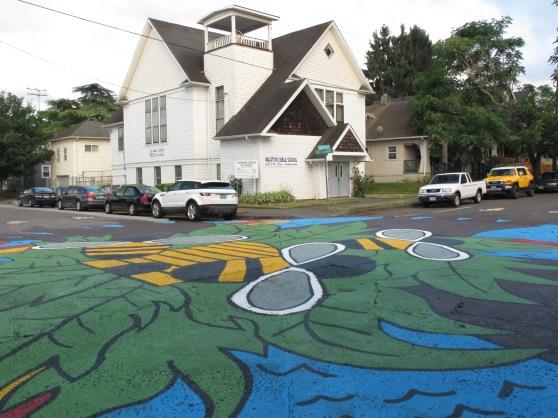 Intersection Art City Repair