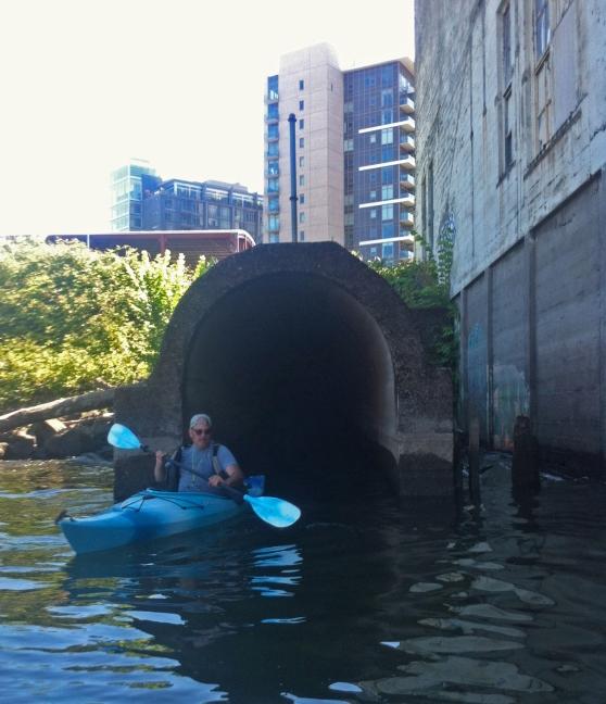 Kayaking Tanner Creek
