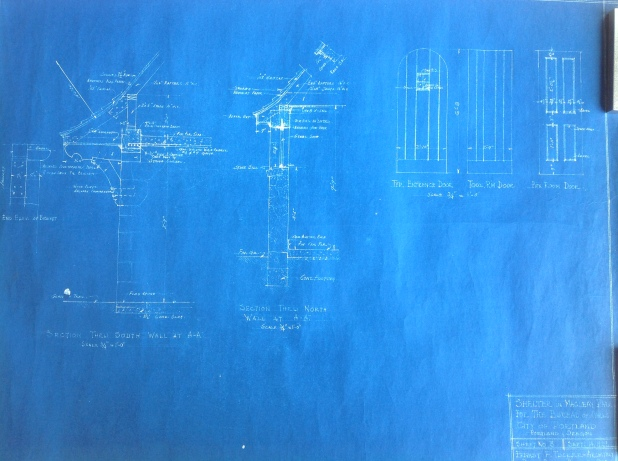 Macleay Blueprints Portland City Archives