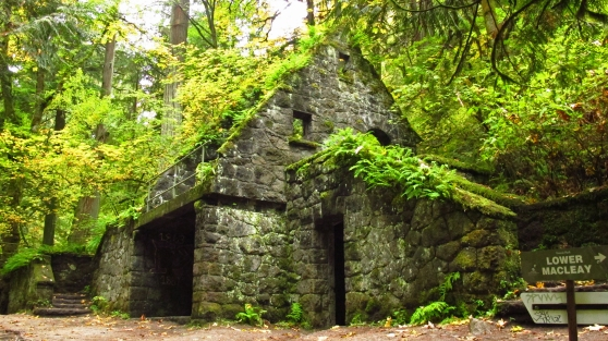 """Macleay Park Comfort Station """"Stone House"""""""