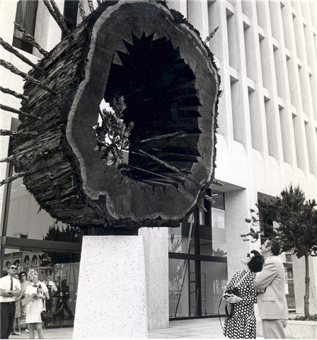 Perpetuity installed at the Georgia-Pacific building (now the Standard building).