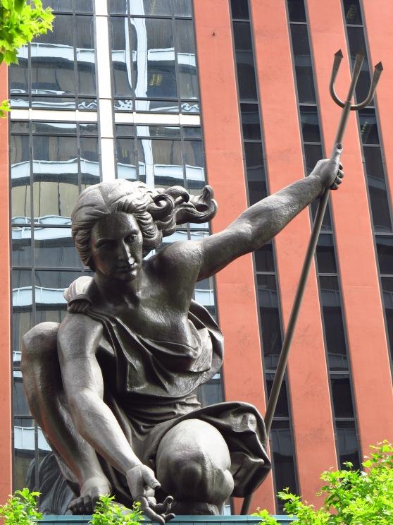 Portlandia statue by Raymond Kaskey