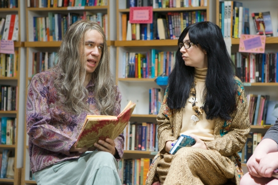 Carrie Brownstein in her hit show Portlandia still celebrating all the quirkiness of Portland