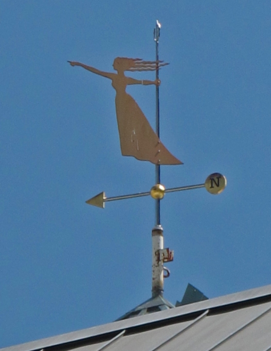 Pioneer Place weather vane