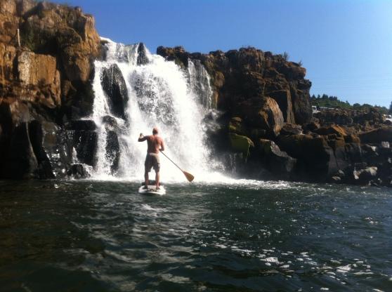 Willamette Falls SUP
