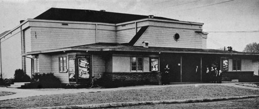 The Vanport theater showed movies 24/7 so all shifts could still catch a movie. It seated 750.