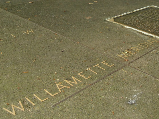 Willamette Meridian inlay