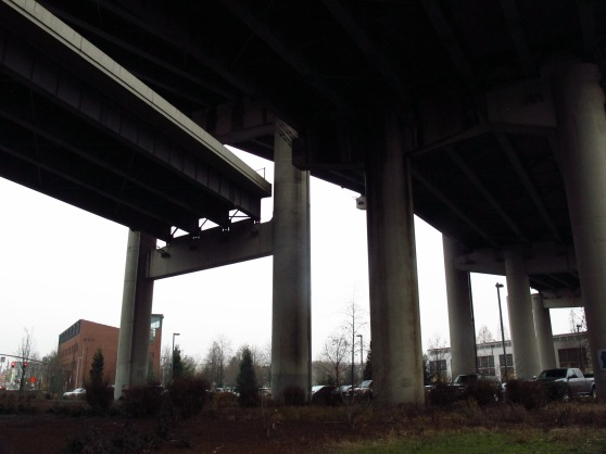 The Northbound abandoned ramp