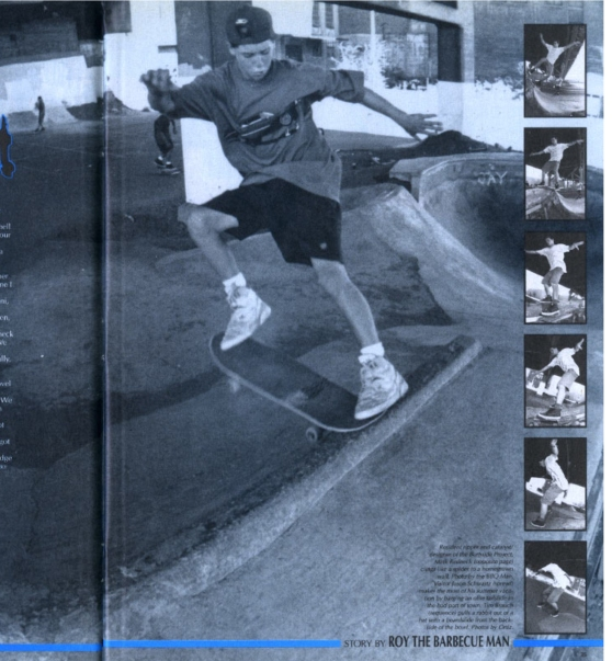 1991-11 Thrasher vol 11 pg 35  The Portland Project