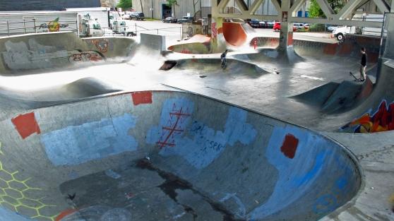 Burnside skatepark since 1990