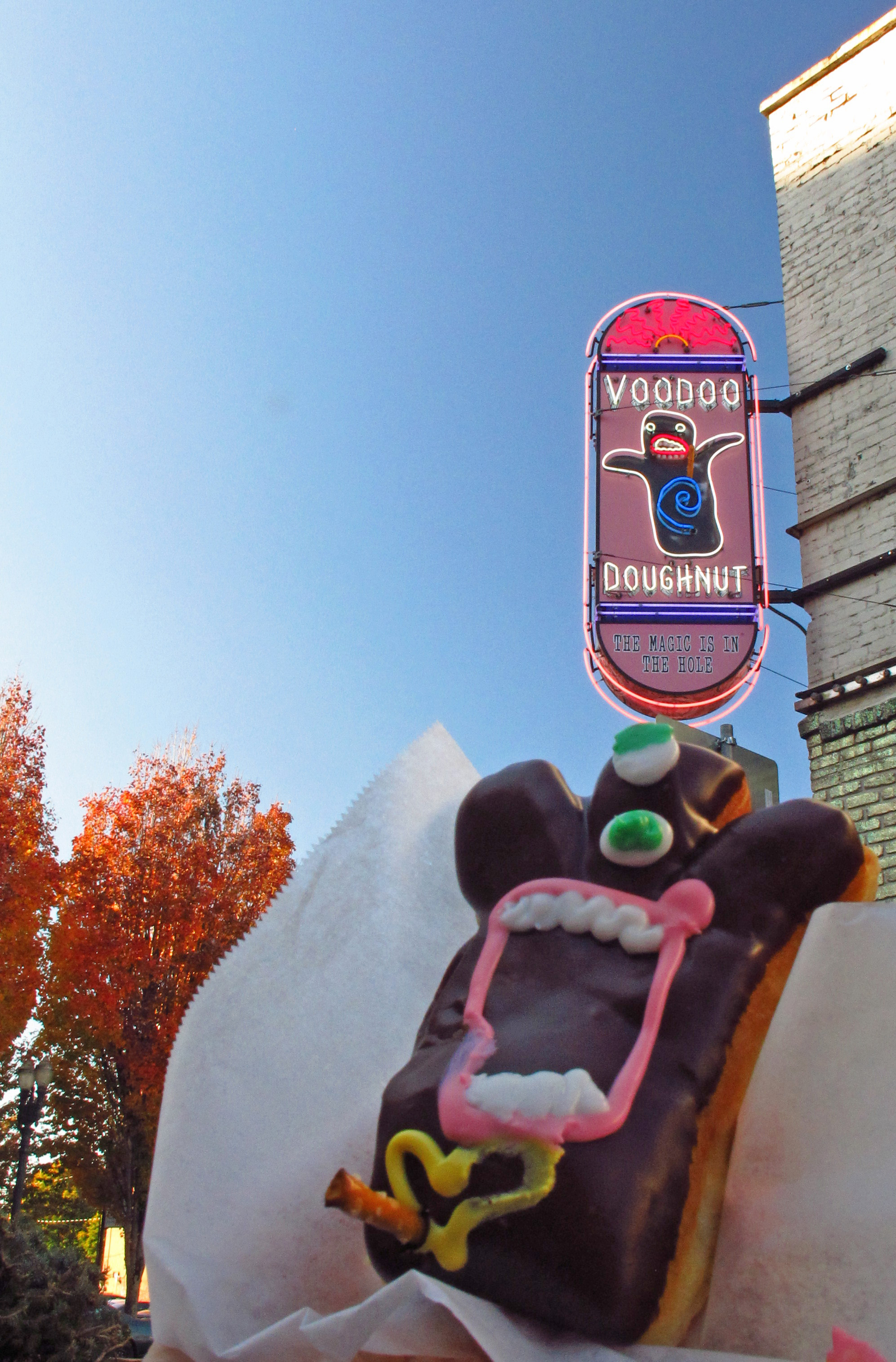 B11 Voodoo Doughnut  Pdxccentric. Where To Get Disabled Placard. Hazmat Placards. Median Signs. Ppt Banners. Beard Man Stickers. Garden Path Murals. High Rise Building Logo. Claw Stickers