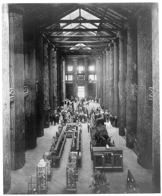 Interior Forestry Building