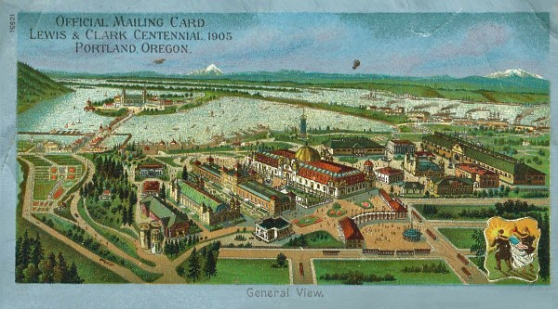 1905 Lewis and Clark Exposition poster