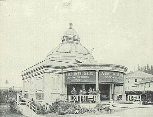 National Cash Register Building at the 1905 fair