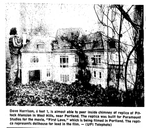 1977-2-25 The Bakersfield Californian Pittock dollhouse (1977) First Love