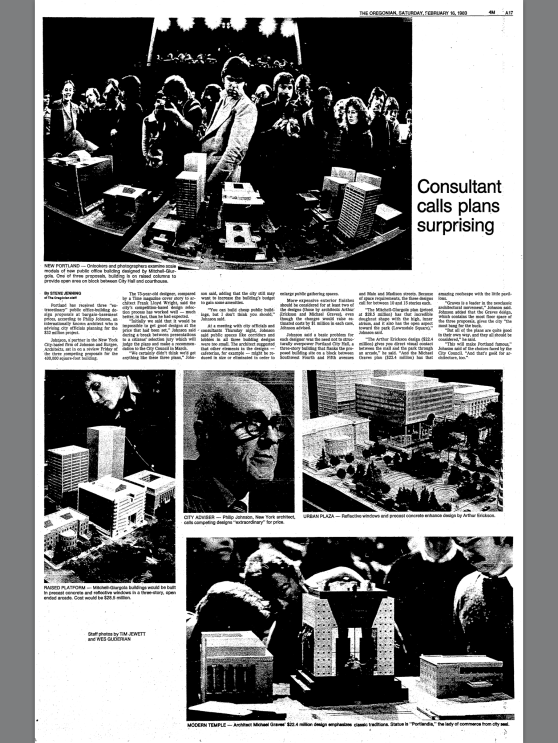 1980-2-16 Oregonian Consultant calls plans surprising