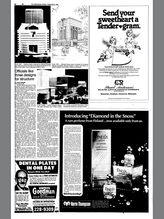 1980-2-8 Oregonian Officials like three designs for structure