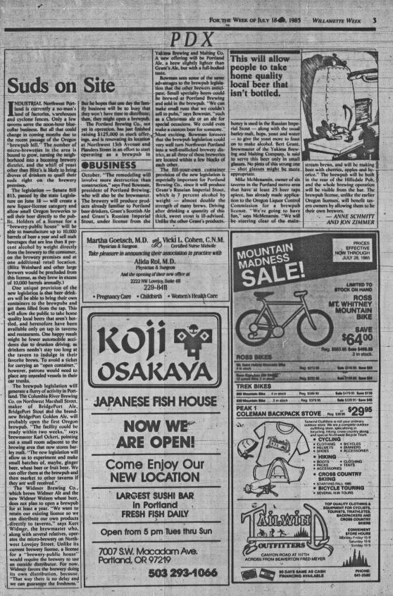 1985-7-18 WW Suds on Site