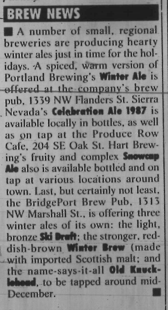 1987-12-10 Winter beers