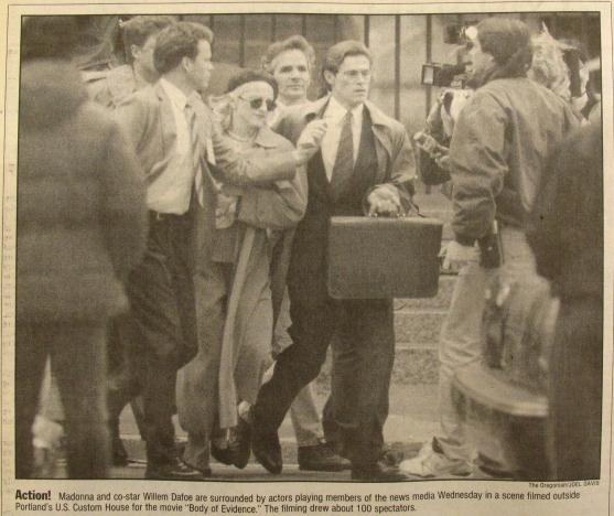 1992-4 Oregonian Action Madonna