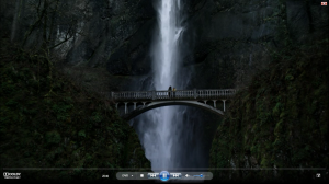 20.40 Multnomah Falls Cold Weather