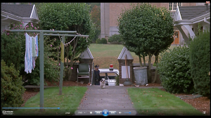 27.18 Panda leads the cops  - Drugstore Cowboy (1989) to apartment across from Chapman school  - Drugstore Cowboy (1989)