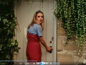 35.31 Terry hears a warnig scream just as she is about to open the barn door Pittock (1982) Unhinged)