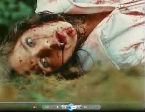 38.13 Nancy's encounter with the stranger in the woods doesn't go well for her (1982) Unhinged)