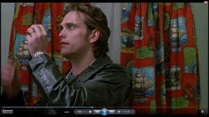 44.32 Matt with curtains  - Drugstore Cowboy (1989)