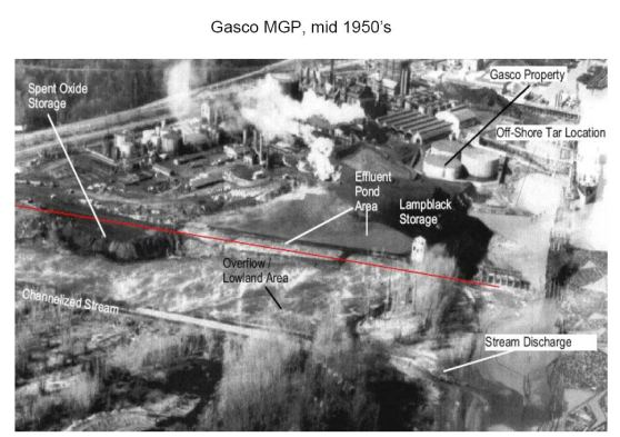 GASCO circa mid 50s Superfund site