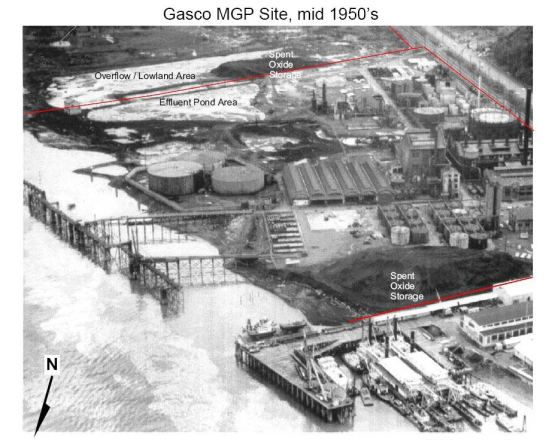 GasCo site mid 50s Superfund