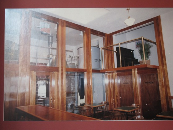 Photo of the inside of the old Portland Brewing