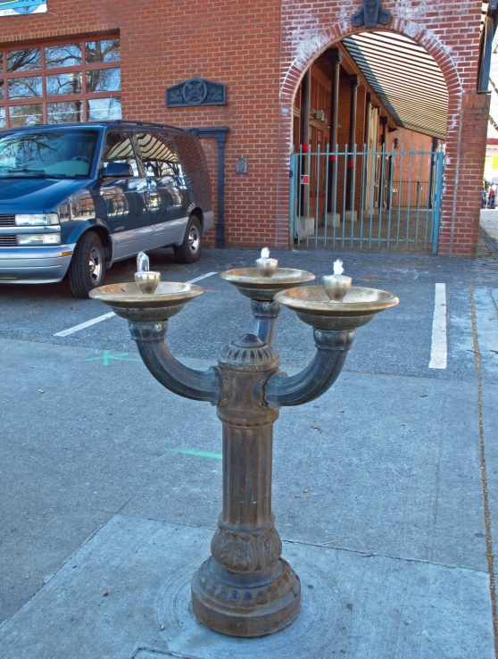 The only 3 headed Bubbler is also a Nellie and it's on Naito Parkway at Ankeny Square.